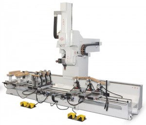 PADE Chrono 5 Axis CNC Work Center with 4 Mobile Traverses
