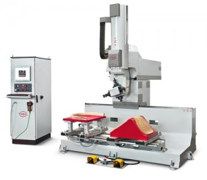 PADE Chrono Solo 5 Axis CNC Work Center with 2 Mobile Traverses