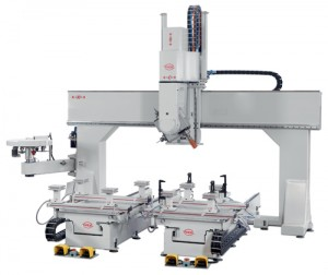 PADE Clipper L CNC work center open beam portal 6 axis