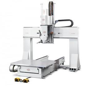 PADE Clipper Solo CNC work center portal open beam 5 axis