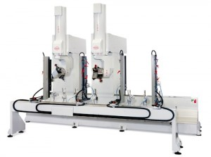 PADE Omega Duet CNC workcenter double head