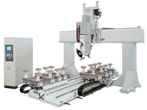 PADE Spin M CNC Work center portal 6-axis