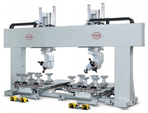 PADE Velox Duet CNC workcenter double head