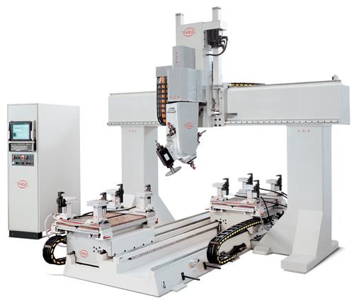 PADE Spin CNC Work center portal 6-axis