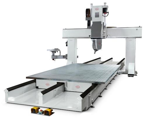 PADE spin Solo CNC Work center portal 5-axis open beam
