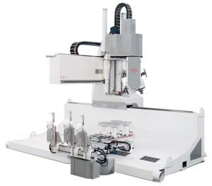 PADE Vario TR CNC work center rotating tables
